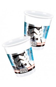 Vasos Star Wars, 8 uds.