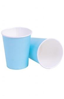 Vasos Azul Celeste Baby, 8 uds.