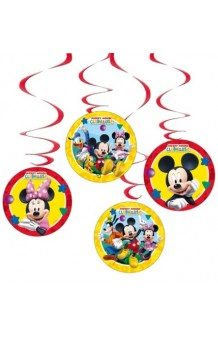 Kit 4 Colgantes Mickey