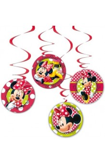 Kit 4 Colgantes Minnie