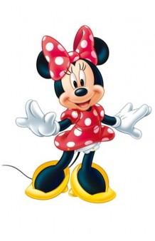 Figura Minnie Articulada, 100 cm.