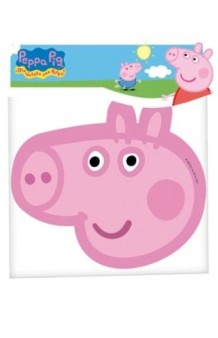 Caretas Peppa Pig, 6 uds.