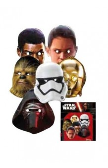 Kit 6 Caretas Star Wars