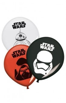 Globos Star Wars, 8 uds.