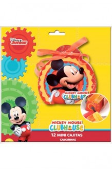 Kit 12 Mini Cajitas Mickey