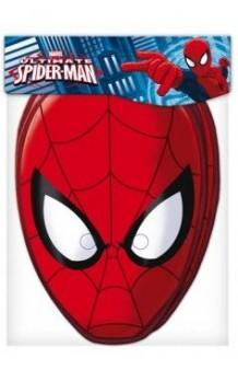 Bolsa 6 Caretas Spiderman (Marvel)
