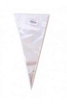 Pack 10 Bolsas Cono Transparentes, 40 x 20 cm.