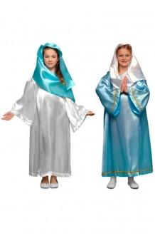 Disfraz Virgen 2 Colores