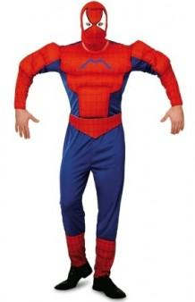 Disfraz Spider Héroe Musculoso T. XL