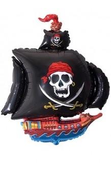 Globo Barco Pirata, 104x82 cm.