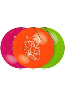 """Globos """"Punch Ball"""" 140 cm. Pro-Quality, 3 uds."""