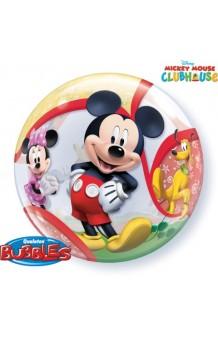 Globo Mickey Burbuja, 56 cm.