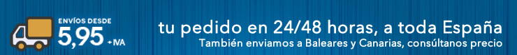 EN FESTIPLANET, ENVIOS A TODA ESPAÑA (Para Baleares y Canarias consultar precios)